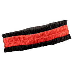 DEALERS ARMBAND - BLACK & RED