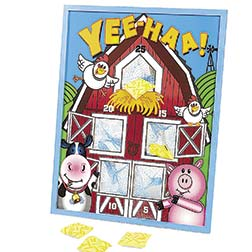 BEAN BAG GAME - FARM ANIMALS 20-1/2""