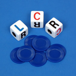DICE GAME - LEFT/CENTER/RIGHT