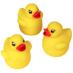 SPECIAL ORDER - RUBBER DUCK - SELF-RIGHTING 2.5""