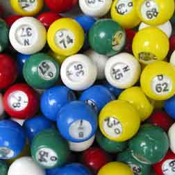 casino games numbered balls