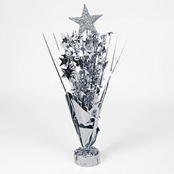 Centerpiece Silver Star Spray Weight 15 5 Quot American