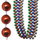 "<b>OUT OF STOCK</b>- BEAD - ROUND 18MM 72"" 6 CLR"