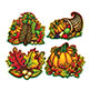 "CUTOUTS - AUTUMN SPLENDOR 15"" (4/PK)"