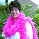 FEATHER BOA - 6' CHANDELLE 60 GR PINK