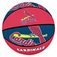 CARDINALS RUBBER BASKETBALL 9-1/2""
