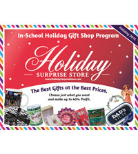 HOLIDAY SURPRISE STORE BROCHURE