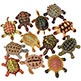 TURTLES ASSORTMENT 2-1/4""