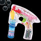 BUBBLE GUN <br>LIGHT-UP <br>W/4 OZ BUBBLES