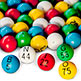 BINGO BALLS - EASY READ 7/8""
