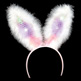 LIGHT-UP SEQUIN BUNNY EARS