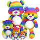 SUMMER RAINBOW BEAR 13""