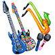 - INFLATE ASSORTMENT - MUSIC INSTRUMENTS