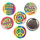 GROOVY BUTTON 2-1/2""