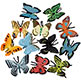 BUTTERFLY ASSORTMENT 1-1/2""