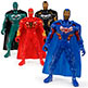 SUPERHERO ACTION FIGURES 6""