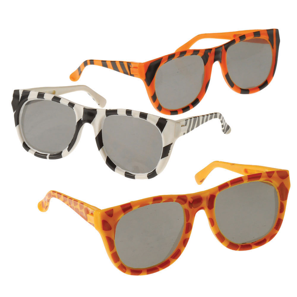ANIMAL PRINT SUNGLASSES (CHILD SIZE) from American ...