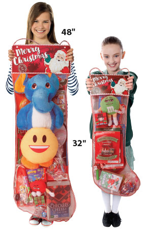 these candy filled stockings for christmas - Pre Filled Christmas Stockings