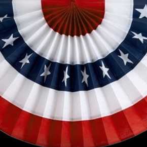 Wholesale Red White And Blue Decorations Flags And Party Supplies