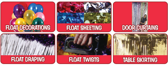 click on any of the links below to see items in the category - Float Decorations