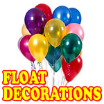 plus we have themed decorations scene setters to help create your themed float - Float Decorations